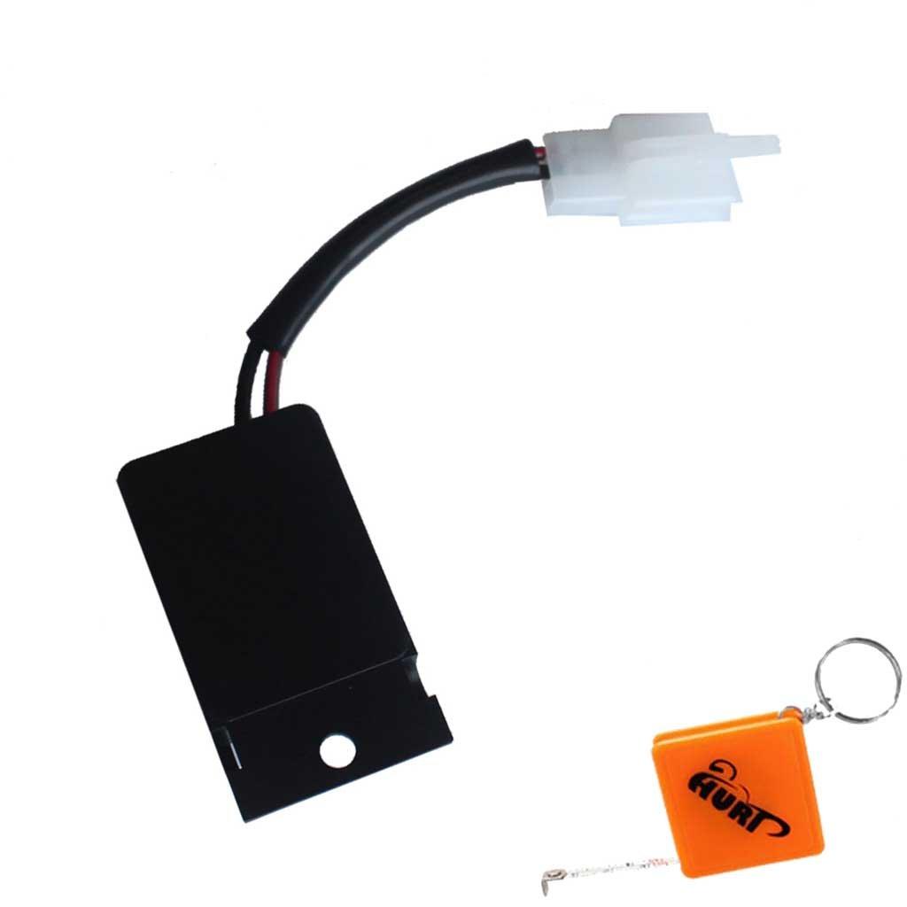 HURI LED Lastunabh/ängiges Blinkg Relais Blinkrelais Blinkgeber passend f/ür GSX-R 600 750 1100 Relay