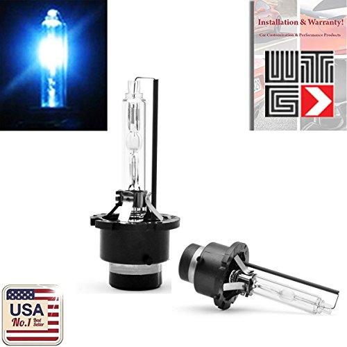 00K Deep Blue Xenon HID Light Bulb OEM Replacement Headlight Car Lamp Mercedes Benz (1 Pair) - 2 Year Warranty ()