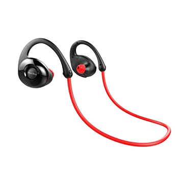 ringbuu nuevo abeja NB7 caracol in-Ear Bluetooth inalámbrico auriculares deporte auriculares con micrófono - rojo: Amazon.es: Electrónica