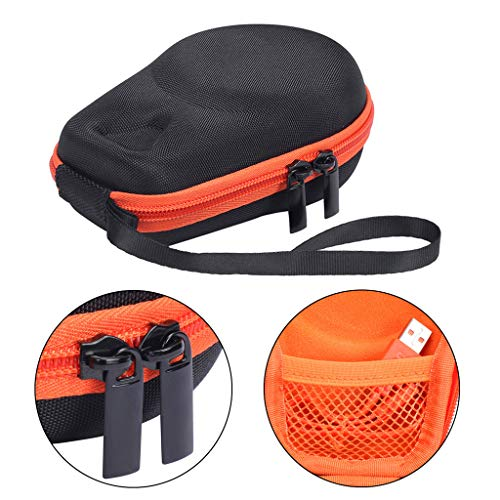 HOWWOH Portable EVA Zipper Hard Case Storage Bag Box for JBL Clip 2 3 Bluetooth Speaker