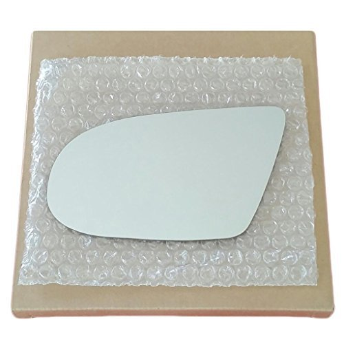 Mirror Glass and Adhesive 95-01 Chevy Lumina / 95-99 Monte Carlo Driver Left Side Replacement - FITS POWER - Car 99 Lumina 97 98