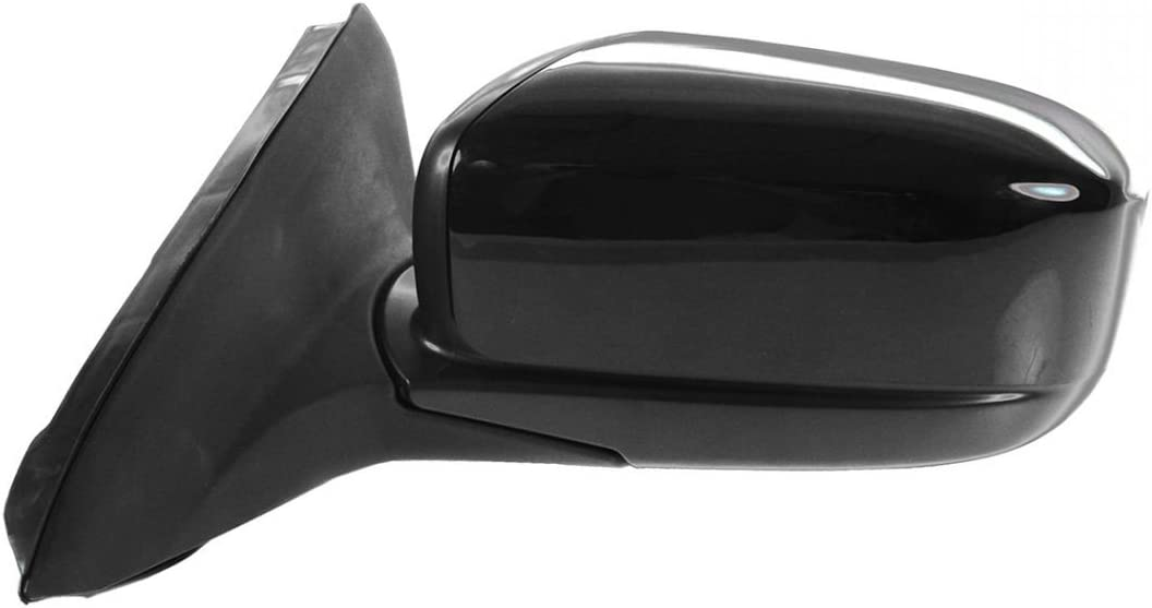 Mirror Power Black Driver Side Left LH for 03-07 Honda Accord Coupe