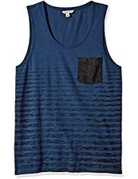 Calvin Klein Jeans Men's Denim Pocket Stripe Tank Top