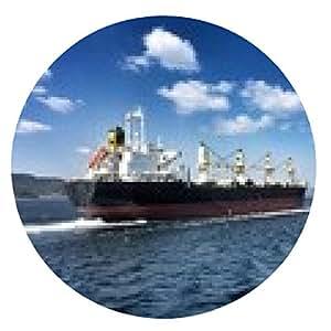 alfombrilla de ratón barco de carga - ronda - 20cm