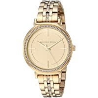 Michael Kors Women's Quartz Stainless Steel Casual Watch, Color Gold-Toned (Model: MK3681)