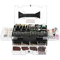 349-Pcs. Meterk Grinding Polishing Drilling Rotary Tool Accessories Kit