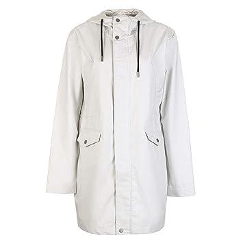 Trench coat Manteaux mi Long pour Femme Veste Ample à