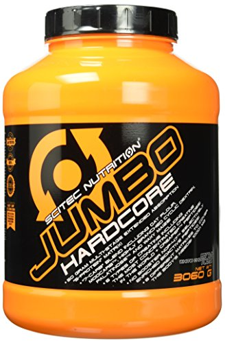 Scitec Nutrition Jumbo Hardcore Krokant - Weisse Schoko, 1er Pack (1 x 3.06 kg)