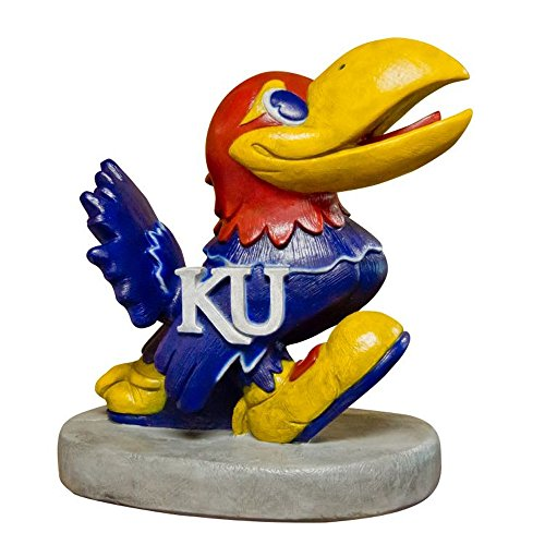 Stone Mascots - University of Kansas Jayhawk College Stone Mascot by Stone Mascots