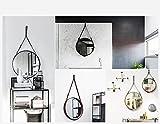 HofferRuffer Decorative Hanging Mirror, Round