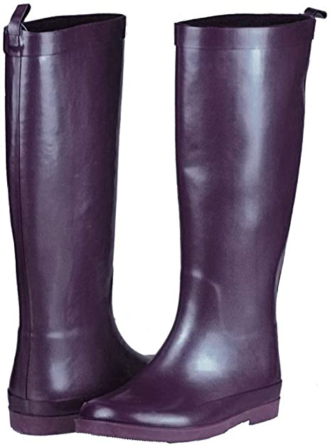 NEW Muddy River Rubber Waterproof Round Toe Brown Rain Boots Child /& Youth Sizes