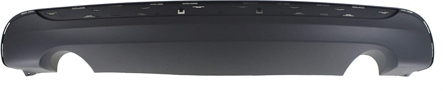 // Garage-Pro Valance for CHRYSLER 200 11-14 REAR Lower Textured Conv 13-14 w//Dual Exh Hole Sdn w//Chr Trim