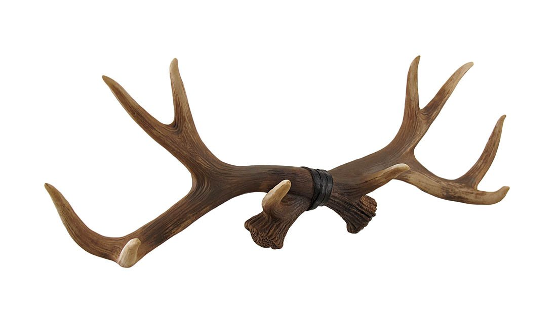 Lifelike Deer Antlers Rack Decorative
