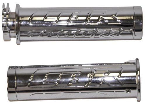 Yana Shiki CA2968 Triple Chromed Straight Grips with Flat Ends for Honda CBR 1000RR