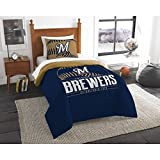 The Northwest Co mpany MLB Milwaukee Brewers Grandslam Twin 2-piece Comforter Set