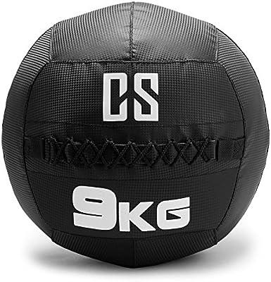 CapitalSports Bravor Balón Medicinal PVC 9 Kg (Entrenamiento del ...