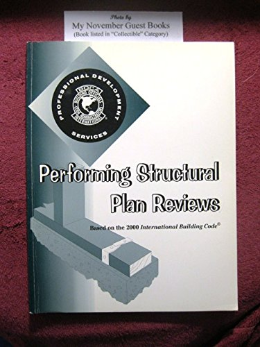 Performing Structural Plan Reviews: Based on the 2000 International Building (Masonry Cleanout Door)
