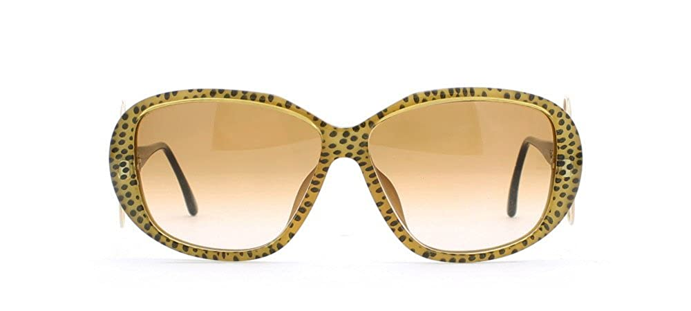 Amazon.com: christian dior 2558 20), color negro y amarillo ...