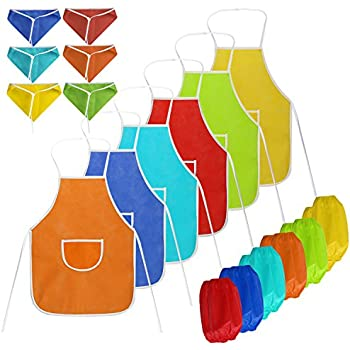 Amazon.com: Fun Express Assorted Children's Artists Aprons For ...