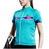 Santic Women's Cycling Jersey bicycling shirts Semi Fit