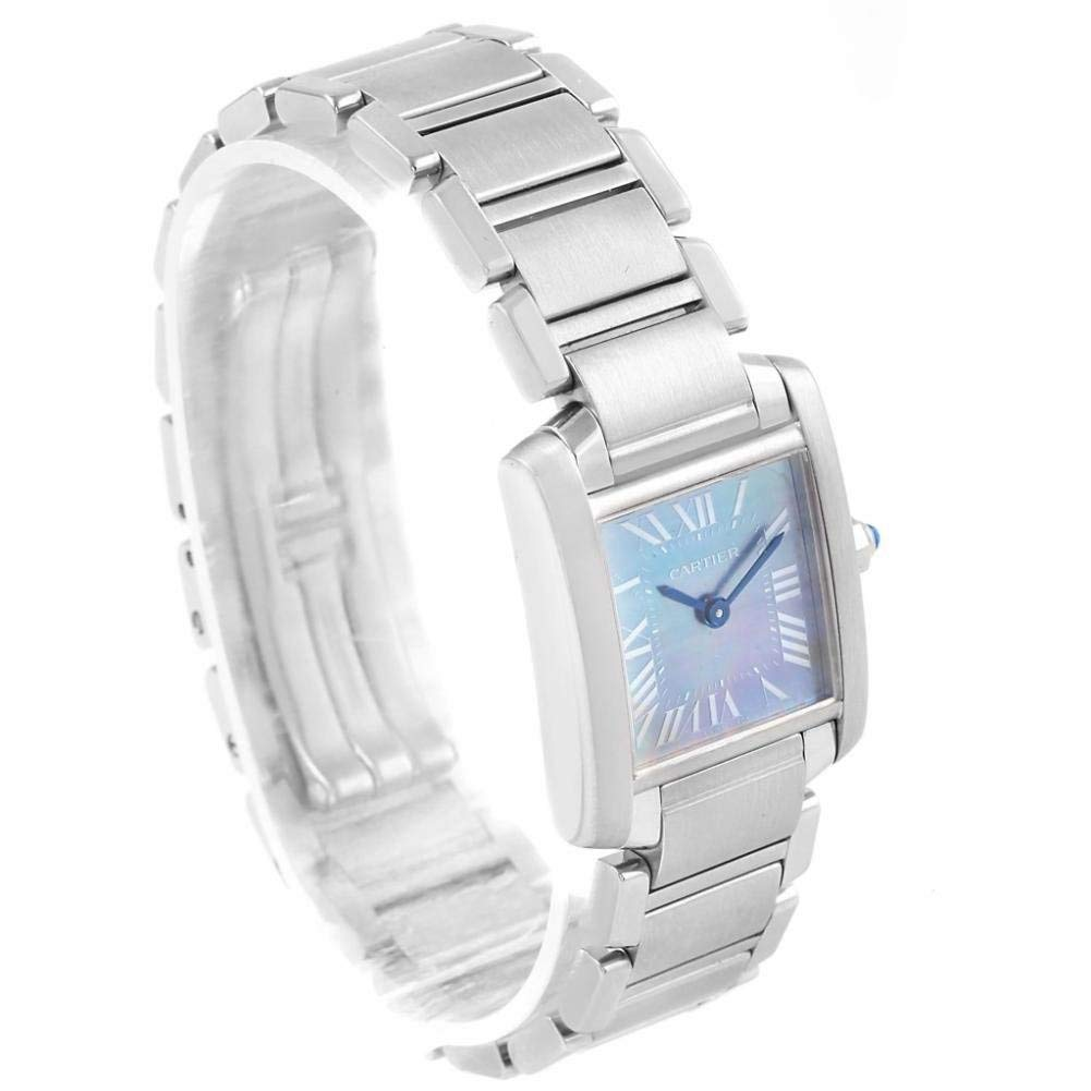 Cartier Tank W51034Q3 - Reloj de Cuarzo para Mujer (Certificado de autenticidad): Cartier: Amazon.es: Relojes