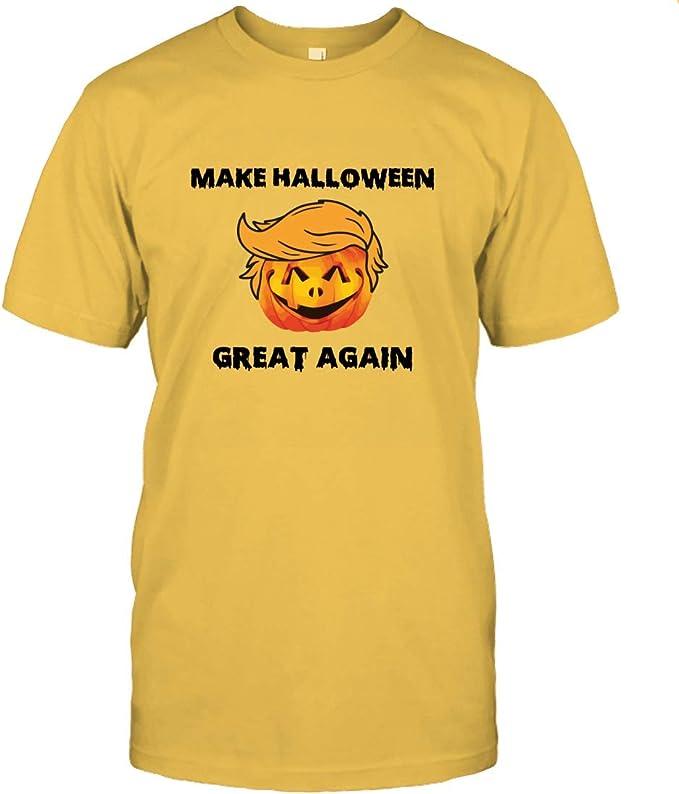 Amazon.com: Make Halloween Great Again Shirt Nice Halloween Wear Men Women Top Halloween Nice Wear 2020: Clothing