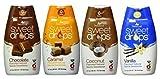 SweetLeaf Sweet Drops Flavored Stevia Sweetener 4 Flavor Variety Bundle, 1 Ea