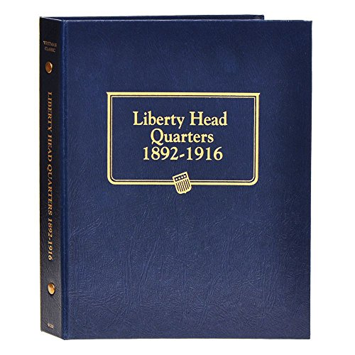 Whitman US Liberty Head (Barber) Quarter Album 1892 - 1916 #9120