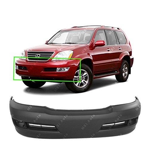 - MBI AUTO - Primered, Front Bumper Cover Fascia for 2003-2009 Lexus GX470 03-09, LX1000140