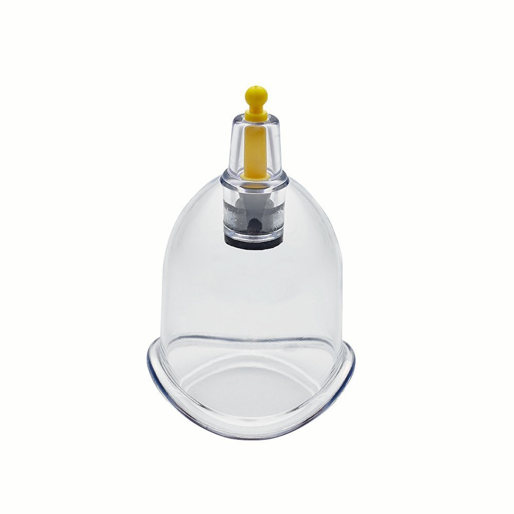 Wholesale Cupping Therapy Vacuum Suction Disposable Hijama Cups Chiropractor Acupuncture Physiotherapy - Multiple Sizes - Express Delivery Worldwide (250 Cups, B4 Curved - Inner 3.58cm - Outer 4.0cm)