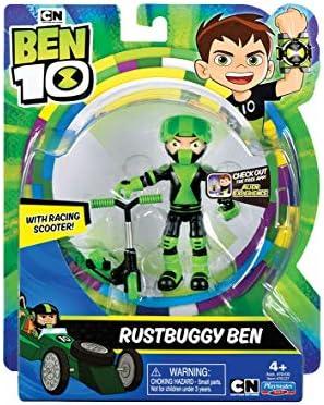 Mehrfarbig Ben 10 70743981 Ben10 Rostbuggy Ben 10 cm Actionfigur