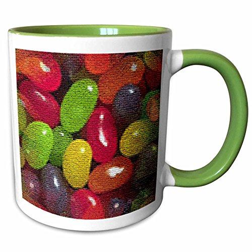 3dRose Sandy Mertens Easter - Jellybeans in Mosaic - 11oz Tw