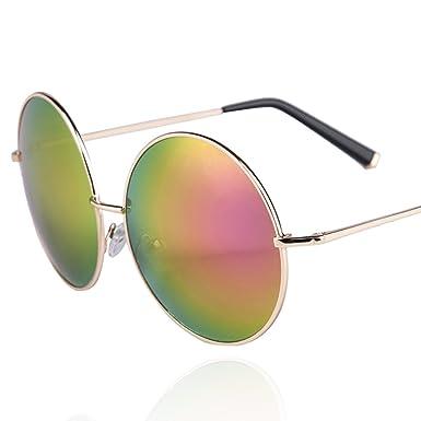 Große Kiste reflektierenden Sonnenbrille/Runde Sonnenbrille/Lady Gläser-A oE0F0dgK