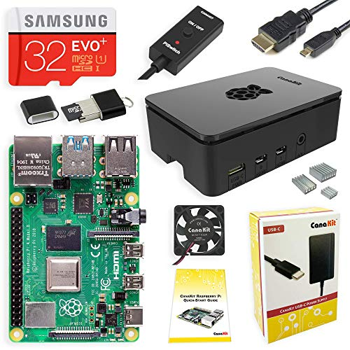 CanaKit Raspberry Pi 4 4GB Starter Kit - 4GB RAM (Raspberry Pi 2 Model A)