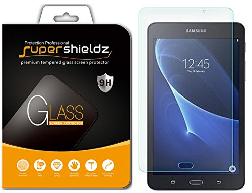Supershieldz for Samsung Galaxy Tab A 7.0 inch Tempered Glass Screen Protector, Anti-Scratch, Anti-Fingerprint, Bubble Free, Lifetime Replacement Warranty