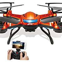JJRC H12W WIFI FPV Quadcopter With Camera HD 2.4G 4CH RC drone with camera HD flying camera helicopter