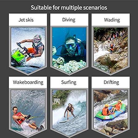 AEUWIER Cappuccio da Sub 2mm SCR Cappuccio da Immersione in Neoprene Cappuccio da Immersione in Mare Elastico Impermeabile 3D per Lo Snorkeling Scuba Surfing Kayak