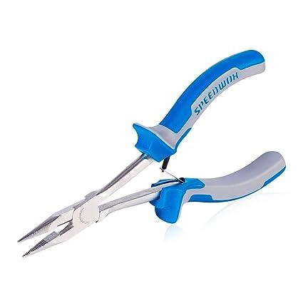 Alicates de punta larga SPEEDWOX de 15,2 cm para cortar alambres laterales, finos
