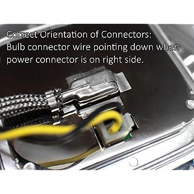 Replacement Xenon HID Ballast for BMW, Mini, Audi, Cadillac with AL 307 329 153 and 307 329 193 Headlight Control Unit Module 63117182520, 25806714: Automotive