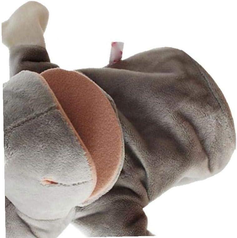 rhinoceros Kavaii Educativa Del Fumetto Dei Giochi Per Bambini Genitore-bambino Del Burattino Di Mano Molli Giocattoli Di Peluche