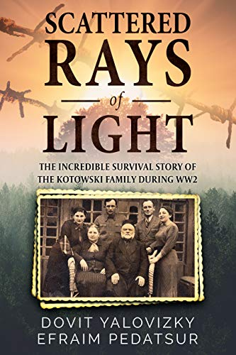 Scattered Rays Of Light by Efraim Yitshak Pedatsur & Others ebook deal