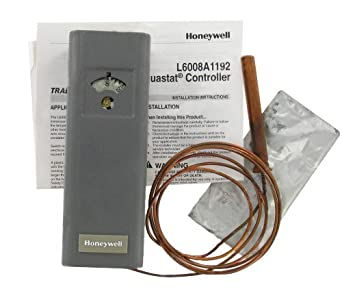 honeywell l6008a1192 aquastat circulator controller low. Black Bedroom Furniture Sets. Home Design Ideas