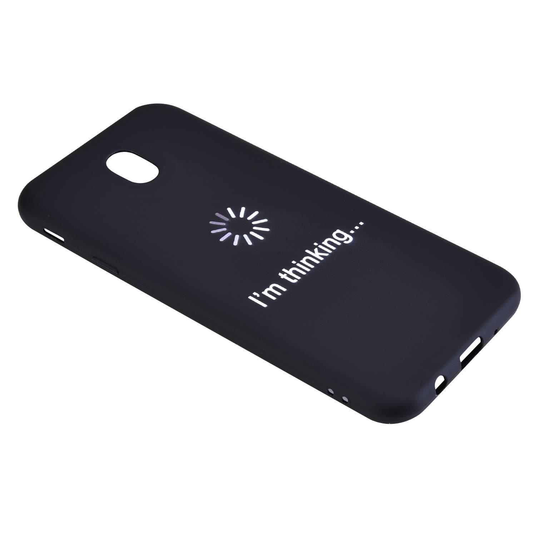JCKHM Compatible avec Coque Galaxy J530//J5 2017 silicone,La mode Mat TPU silicone /étui Souple couvrir de Protection Silicone couverture Case doux Anti Rayure,/Él/éphant european version