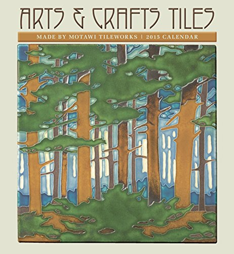 Arts crafts tiles 2015 calendar buy online in uae for Arts and crafts floor tile