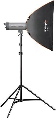 Walimex Pro Softbox Plus Orange Line 50x70 Cm Für Kamera