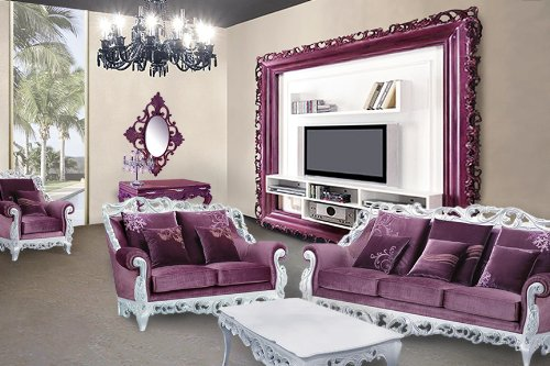 Athena modern living living room set us416 for Modern living room gadgets