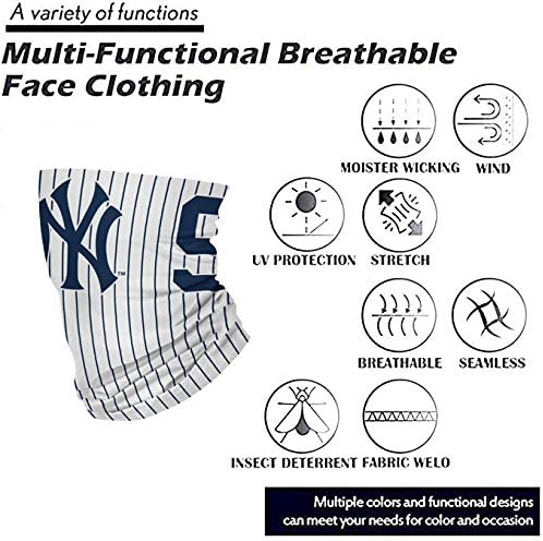 QPX Baseball Team Logo Multiuse Neck Gaiter Face Mask Scarf for Sports
