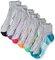Hanes Women's 6-Pack Cool Comfort Moisture Wicking Arch Support Ankle S