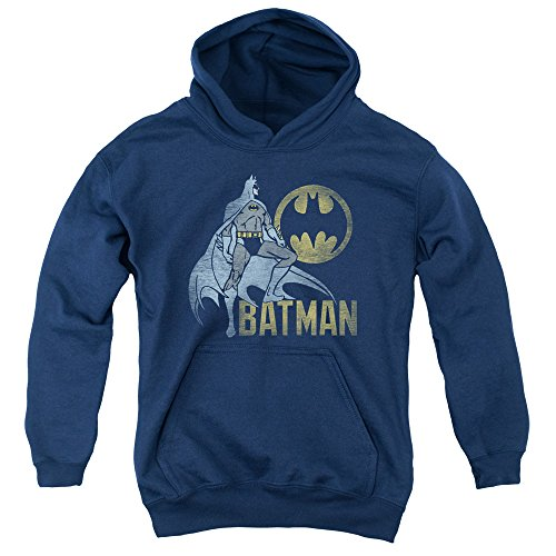 Batman-DC-Comics-Knight-Watch-Vintage-Style-Big-Boys-Youth-Pull-Over-Hoodie