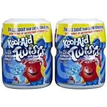 Kool Aid Ice Blue Raspberry Lemonade Powdered Twisted Soft Drink Mix, 20 Ounce -- 12 per case. by Kool-Aid